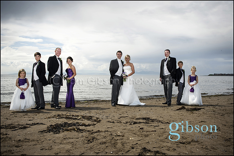 Troon Beach Wedding Photographs