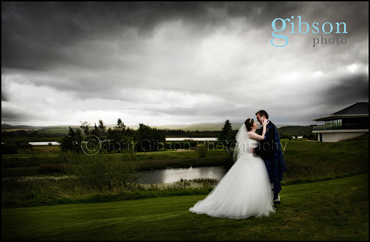 Wedding Lochside House Hotel