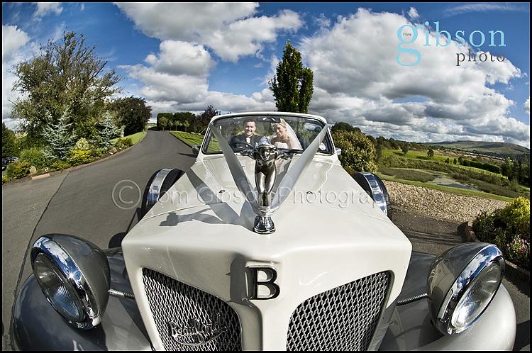 Fun Wedding Photo Lochside