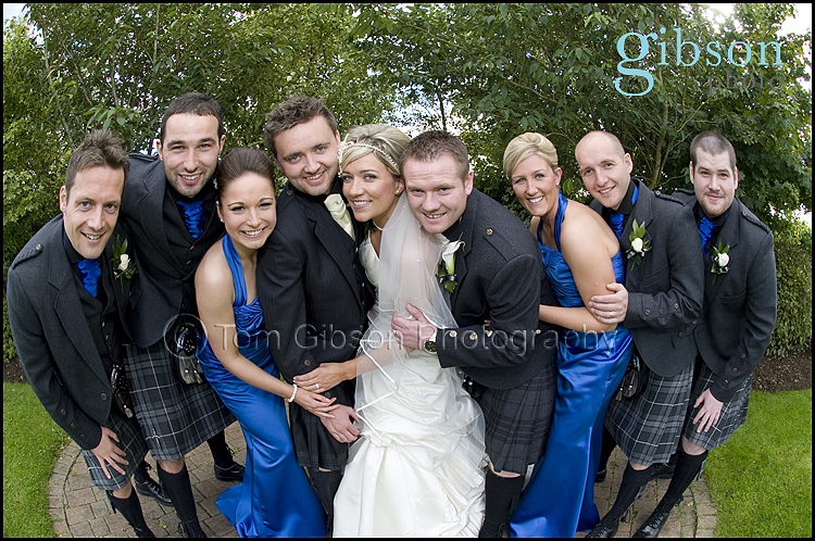 Wedding Photographers Lochside Hotel