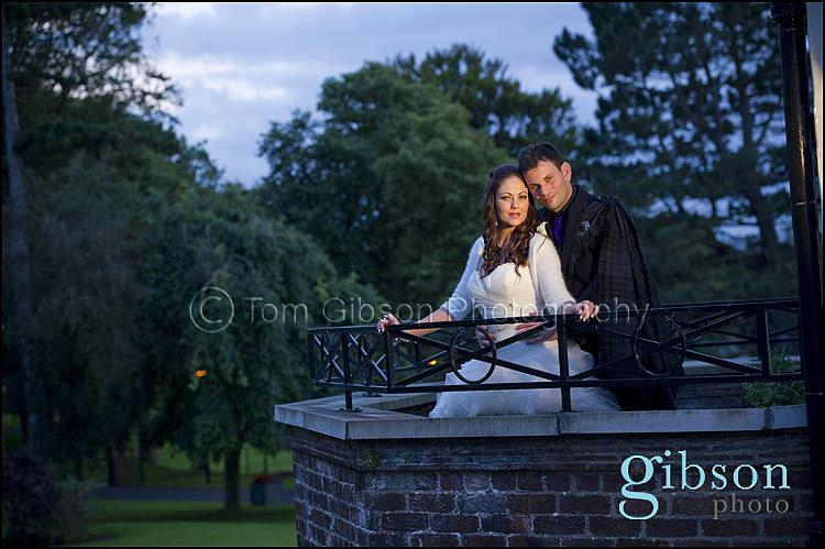 Beautiful Wedding Photographs Western House Hotel Ayr