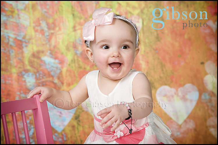 Beautiful Baby Photograph by Ayrshire Baby Photographer Tom Gibson