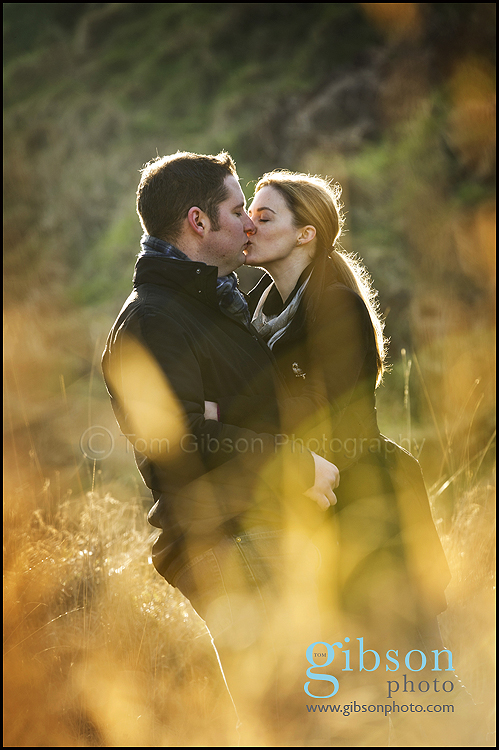 Pre-wedding Photo-shoot image taken by Ayrshire Photographer Tom Gibson