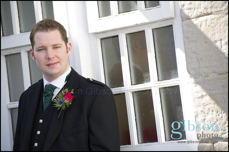 Turnberry Wedding Photographer Groom Photograph