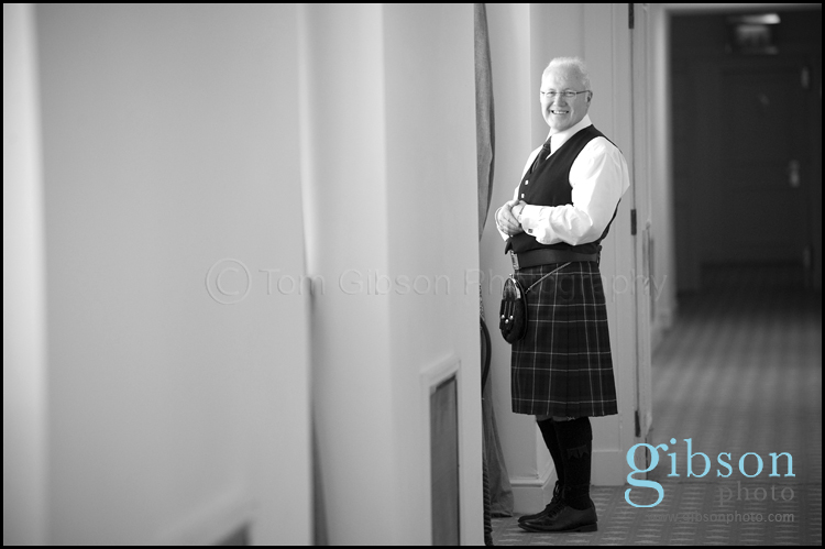 West of Scotland Wedding Venue Father of the Bride Photograph