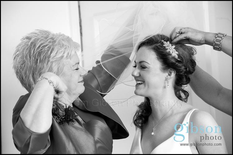Turnberry Wedding Venue Photograph Bride and Mum