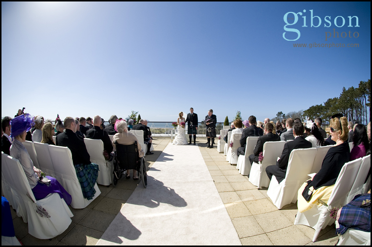 Ayrshire Wedding Venue Wedding Ceremony Photgraph