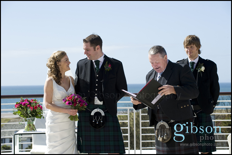 Turnberry Ayrshire Wedding Venue Wedding Ceremony Photgraph