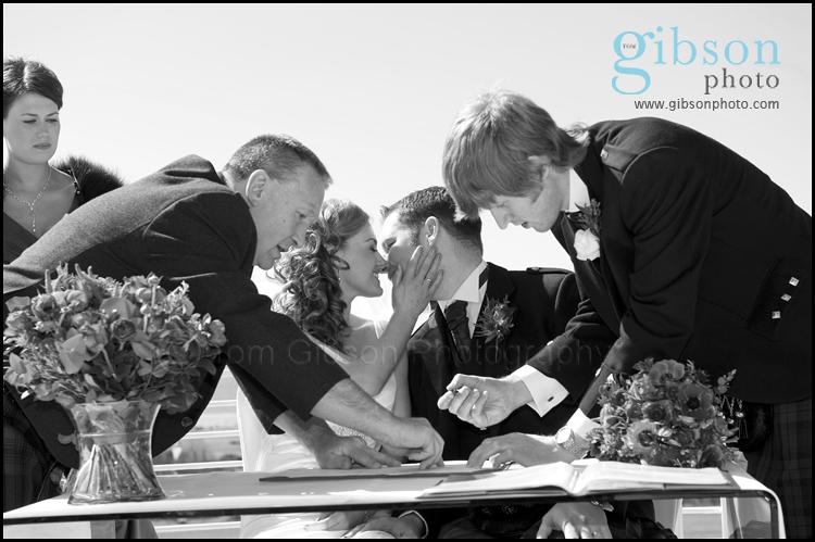 Turnberry Resort Ayrshire Wedding Venue Wedding Ceremony Photgraph