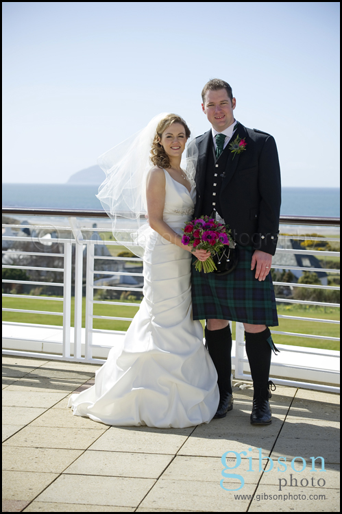 Turnberry Resort Ayrshire Wedding Venue Bridal and Groom Photgraph