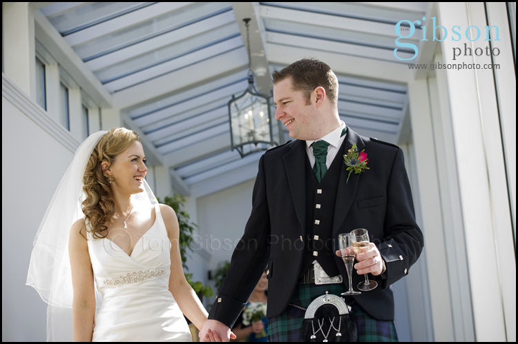 Turnberry Hotel Wedding Venue Bridal and Groom Photgraph