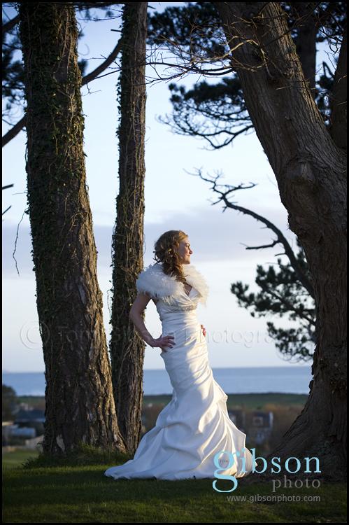 Wedding Turnberry Resport - Bridal Portrait