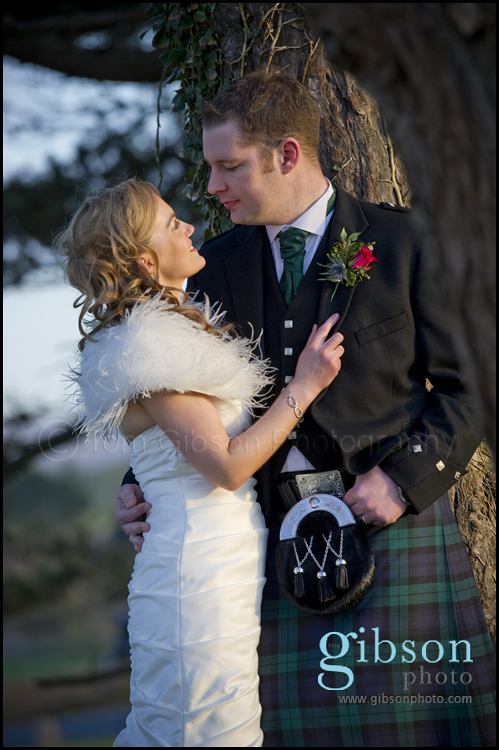 Wedding Turnberry Resort - Bride and Groom Natural Photograph