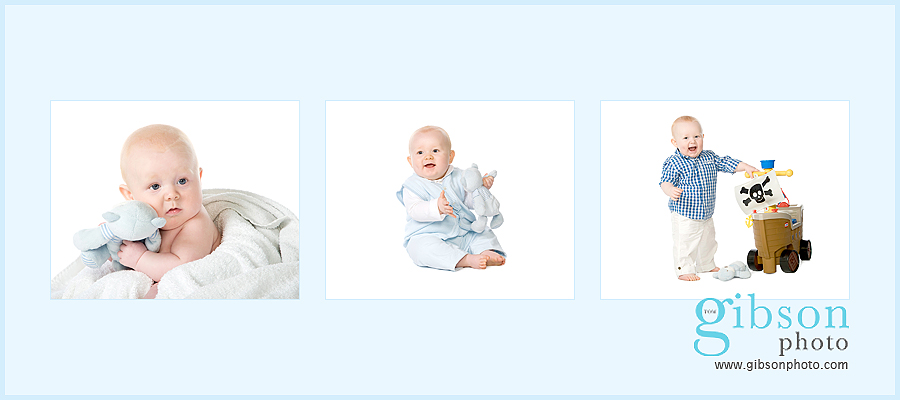 Baby Photographer Ayrshire - cherubs baby promotion 3 photographs of a baby boy