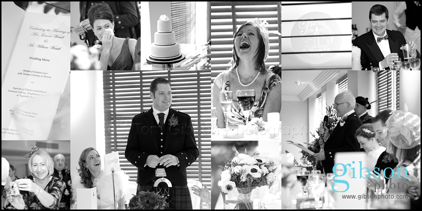 Turnberry Hotel Wedding - Wedding Speach Photographs