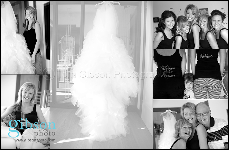 Glasgow Wedding Photographer - getting ready photographs