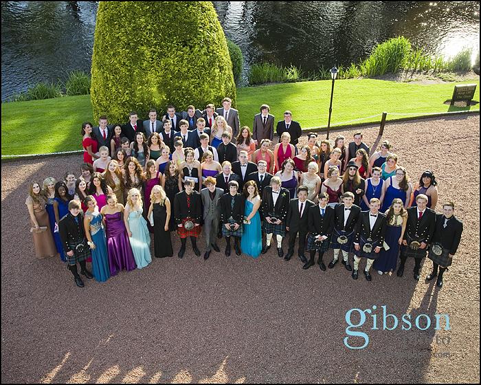 Ayrshire Prom Photographer BrigODoon House Hotel Prom Photograph