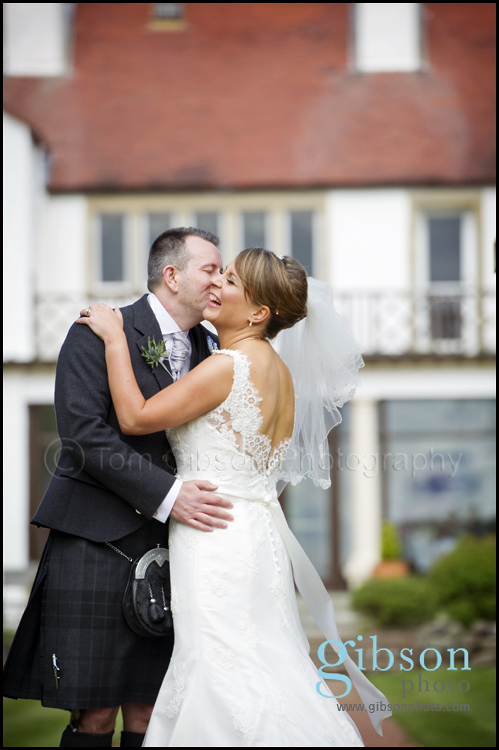 Lochgreen House Hotel Wedding Photograph