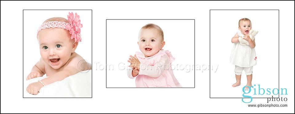 Ayrshire Baby Photographer Cherubs Club 3 photographs from babies 1st year