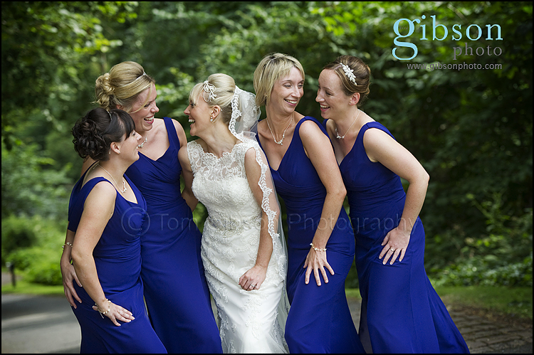 Brig O Doon Wedding Photographs bride and bridesmail photograph