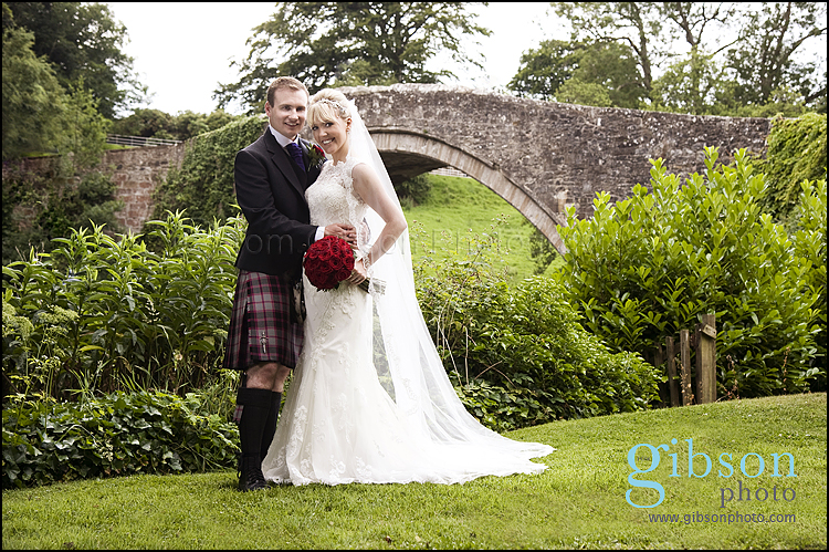 Brig O Doon Wedding Photographer classical bride and groom photograph