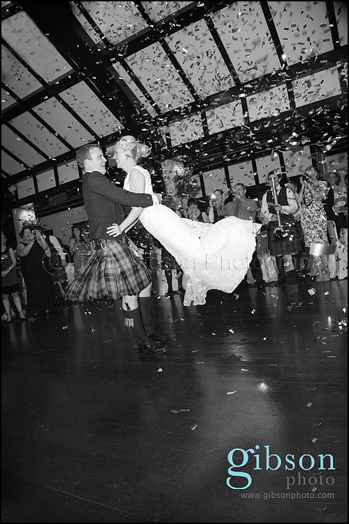Brig O Doon Weddings first dance photograph