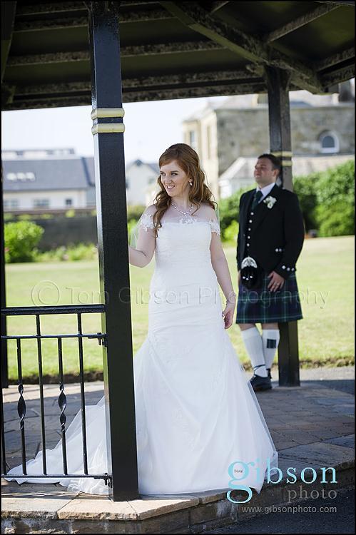 Wedding Photographer Seamill Hydro Bride & Groom photograph