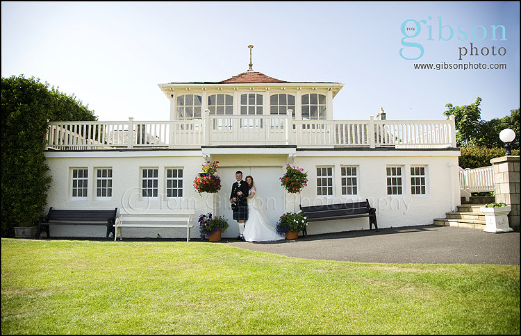 Seamill Hydro Wedding Photographer romantic Bride & Groom photograph