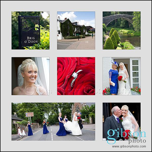Brig'O'Doon House Hotel Wedding – Kirsten & Dave