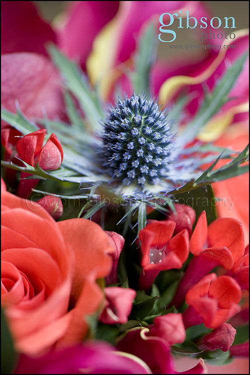 Wedding Photographer Dumfries Arms Hotel, wedding flowers photograph