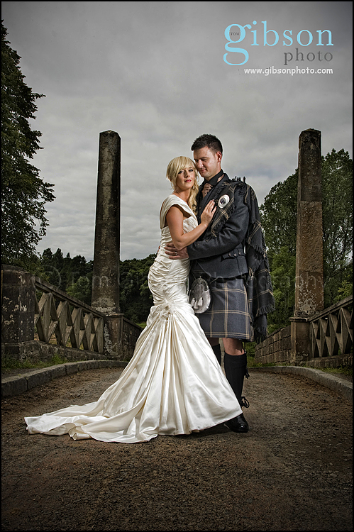 Dumfries House Wedding Photographs Bride And Groom