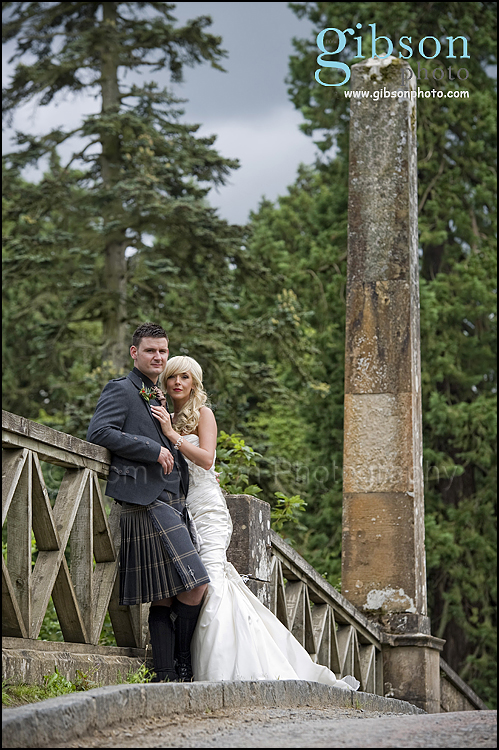 Wedding Photographs Dumfries House Bride And Groom