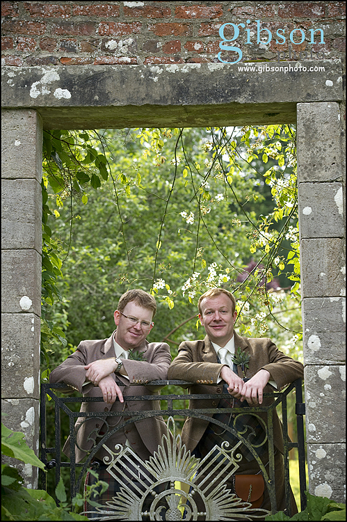 Blairquhan civil partnership, couple photograph