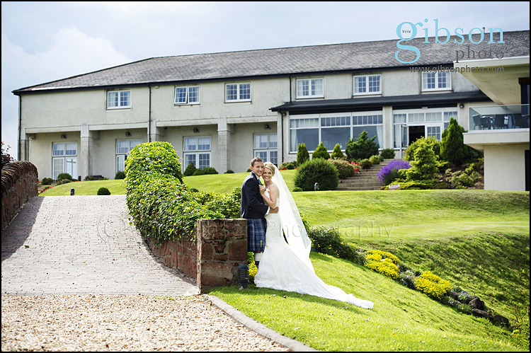 Lochside Wedding Photographer Bride and Groom Photograph