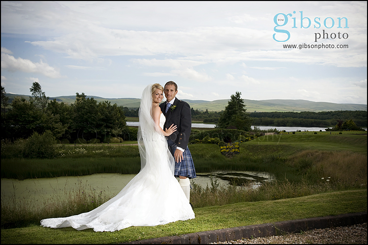 Wedding Photographers Lochside House Hotel, Bride and Groom Photographs