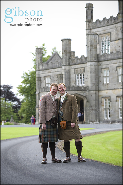 Blairquhan Castle Photographer, civil partnership couple photograph