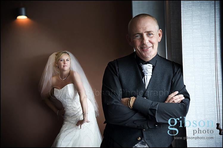 Horizon Hotel Wedding bride and groom wedding photograph