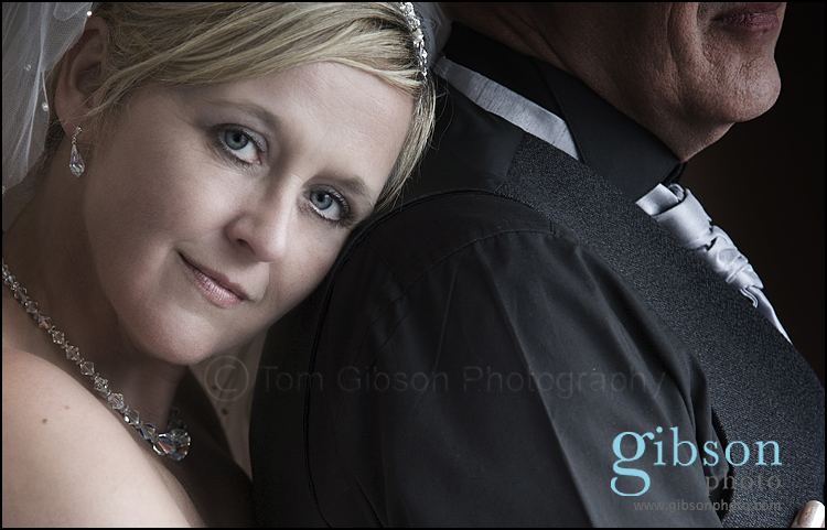 Ayrshire Wedding Photographer photograph of bride and groom