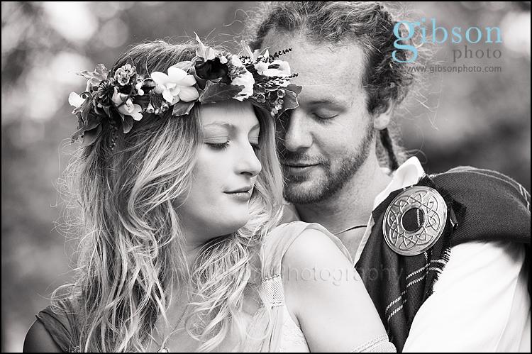 Lochside Wedding Photographer bride and groom photograph