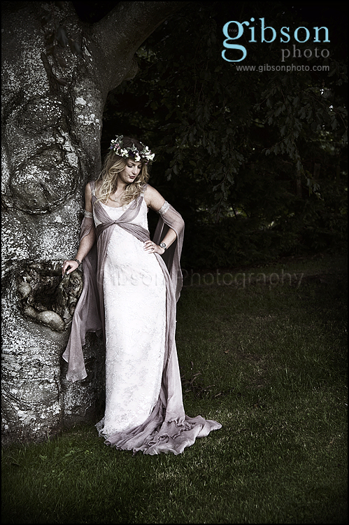 Wedding Photographer Lochside photo of Bride