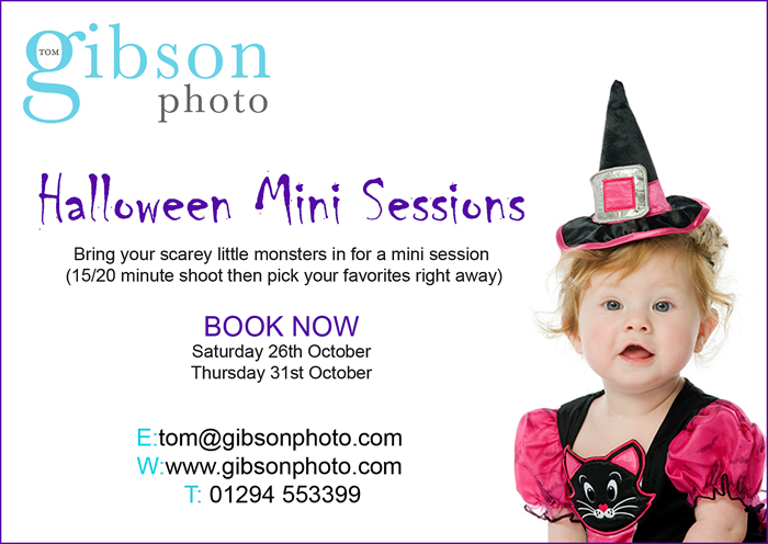 Halloween Portrait Promotions