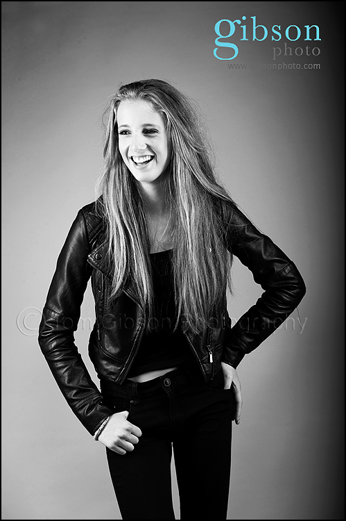 Glasgow Portrait Photographer - Teen model photo shoot