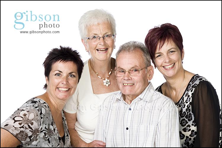 Family Portrait Photographer Ayrshire - family photograph