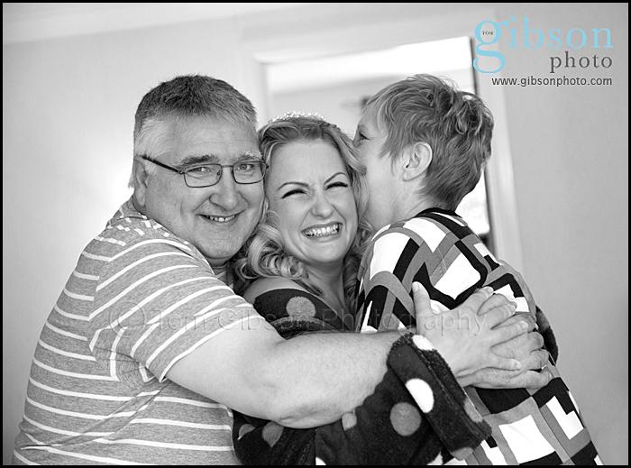 Ayrshire Wedding Photographer emotional getting ready photograph