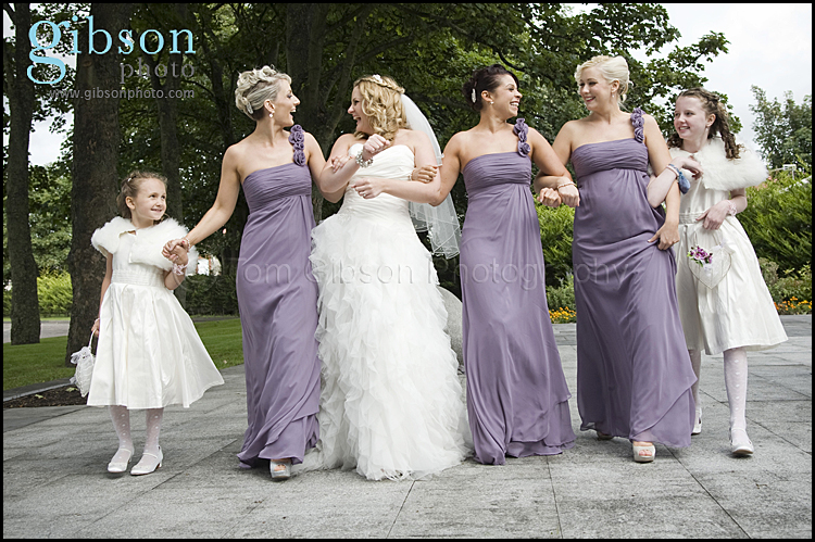 Bride and Bridesmaids photograph - Carlton Hotel Weddings