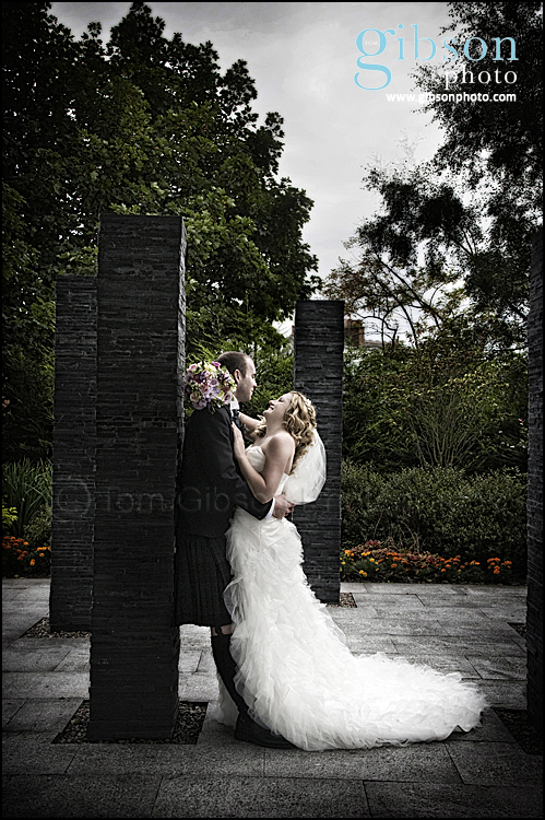 Carlton Hotel Weddings Ayrshire - Beautiful Bride and Groom Photograph