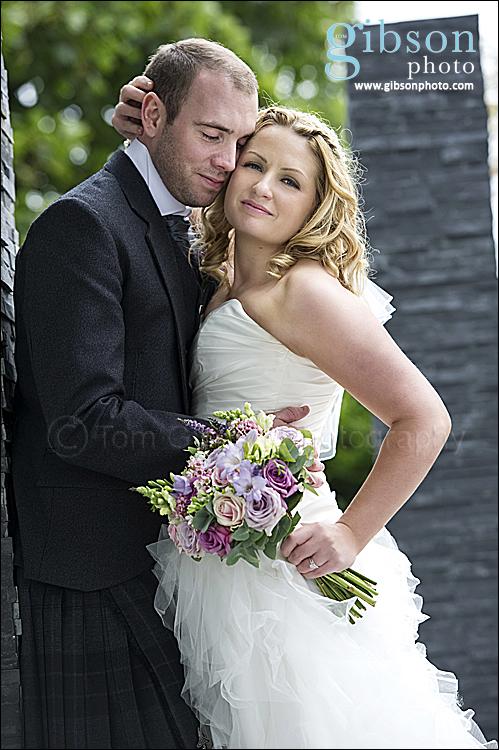 Carlton Hotel Weddings Ayrshire - Bride and Groom Photograph