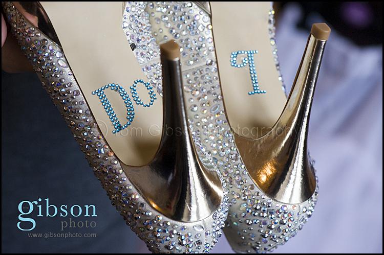 Lochside House Hotel Wedding - shoe photograph