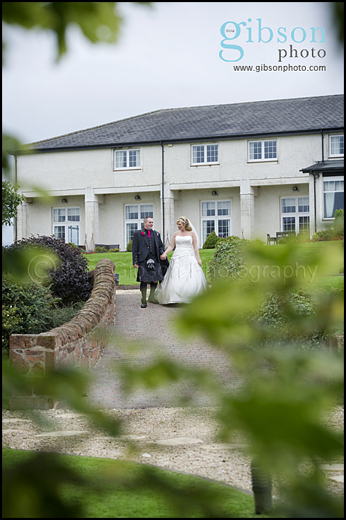 Lochside Wedding Natural Bride and Groom Photograph