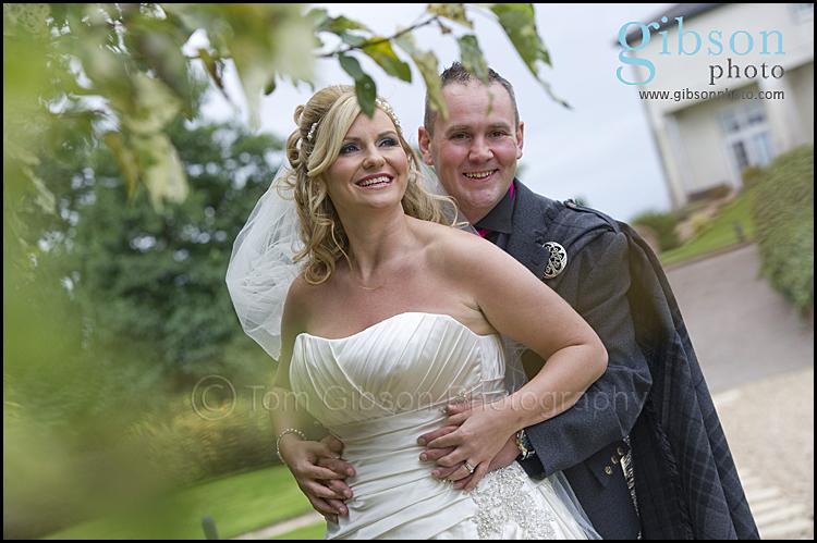 Lochside Wedding Bride and Groom Photograph